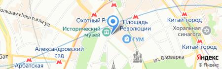 Красная площадь дом 1 на карте Москвы