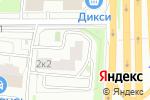 Схема проезда до компании ЦМТ в Москве