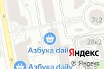 Схема проезда до компании DTL.Expert в Москве