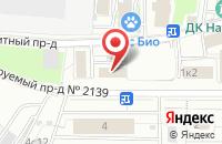 Схема проезда до компании Сервис в Москве