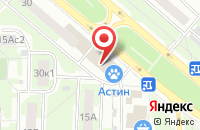 Схема проезда до компании Слот в Москве
