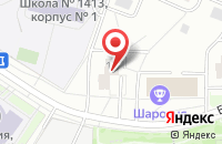 Схема проезда до компании Эльвэйдис в Москве