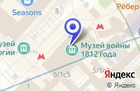 Схема проезда до компании ОБУВНОЙ МАГАЗИН BALDININI в Москве