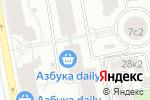 Схема проезда до компании Группа Компаний Фундамент в Москве