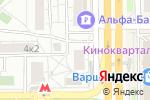 Схема проезда до компании Защита в Москве