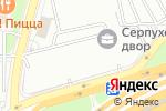 Схема проезда до компании Нефтяное хозяйство в Москве