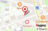Схема проезда до компании Элокс Пром в Москве