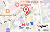 Схема проезда до компании Строительная Компания-Крот в Москве