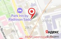 Схема проезда до компании Энатом в Москве