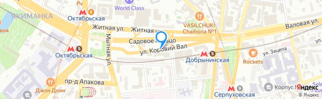улица Коровий Вал