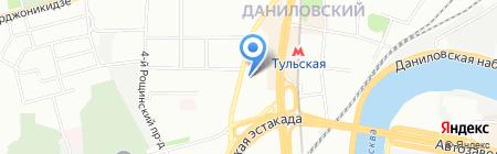 ЮКС на карте Москвы