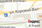 Схема проезда до компании Пожарная безопасность в строительстве и ЖКХ в Москве