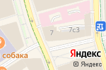 Схема проезда до компании Maneli в Москве