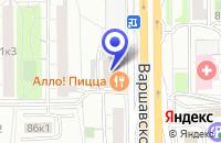 Схема проезда до компании МЕБЕЛЬНЫЙ САЛОН ЮНИТАЛ в Москве