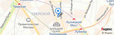 Tommy Hilfiger на карте Москвы