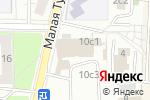 Схема проезда до компании Antares в Москве