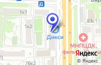Схема проезда до компании АКБ ОРГБАНК. МЕЖДУНАРОДНЫЙ БАНК СОТРУДНИЧЕСТВА в Москве