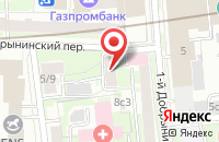 Схема проезда до компании Викман в Москве