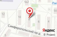 Схема проезда до компании Параллелепипед в Москве