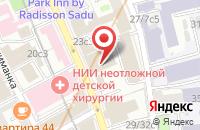 Схема проезда до компании Центр По Обогащению Урана в Москве