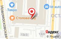 Схема проезда до компании Вм-Студио в Москве
