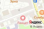 Схема проезда до компании Авеню Тревел в Москве