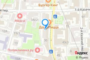 Сдается комната в трехкомнатной квартире в Москве ул. Большая Полянка, 30