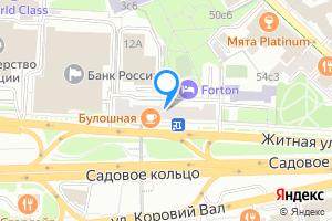 Однокомнатная квартира в Москве Житная ул., 10