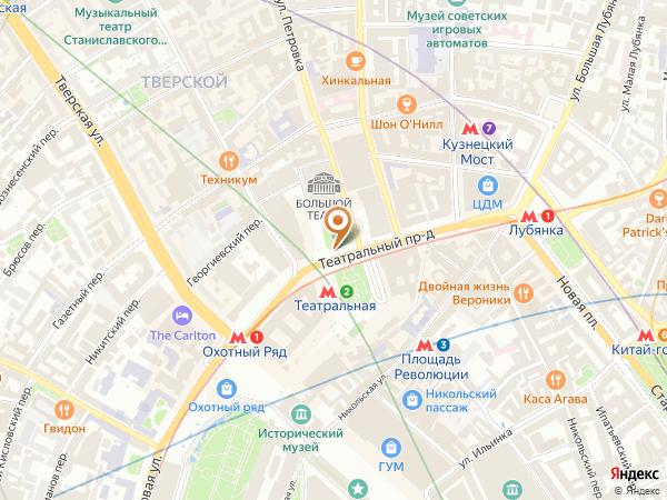 Остановка «Театральная пл.», Театральный проезд (1001373) (Москва)