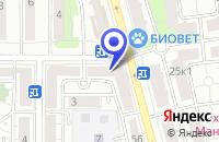 Схема проезда до компании МЕБЕЛЬНЫЙ САЛОН МАСТЕР-ОФИС в Москве