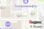 Схема проезда до компании Профкосметик в Москве