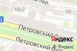 Схема проезда до компании Мечты Виктории в Москве