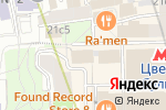 Схема проезда до компании Проф-подбор в Москве