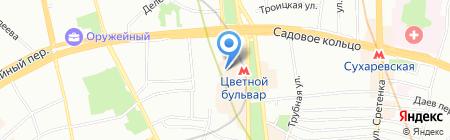 Шагай красиво на карте Москвы