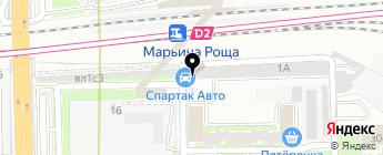 Спартак Авто на карте Москвы