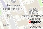 Схема проезда до компании Nova Wedding в Москве