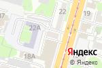 Схема проезда до компании Рукодельница в Туле