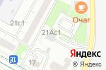Схема проезда до компании Мустанг в Москве