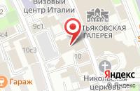 Схема проезда до компании Бэтмин в Москве