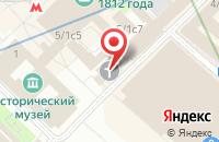 Схема проезда до компании Союз Общественных Объединений Предпринимателей и Арендаторов России в Москве