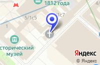 Схема проезда до компании КБ ИНФОРМПРОГРЕСС БАНК в Москве