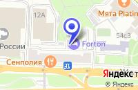 Схема проезда до компании КБ МОСКОВСКИЙ ОБЛАСТНОЙ БАНК в Москве