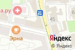 Схема проезда до компании АВАЛЬПРОФИ в Москве
