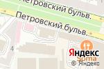 Схема проезда до компании Safran в Москве