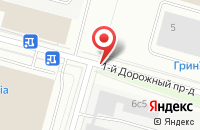 Схема проезда до компании Eko-pil.ru в Дорожном