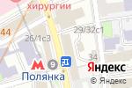 Схема проезда до компании Евровидео в Москве