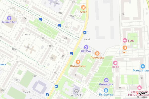 Ремонт телевизоров Улица Олонецкая на яндекс карте