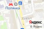 Схема проезда до компании Региональный апицентр в Москве