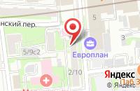 Схема проезда до компании Медитар в Москве
