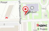 Схема проезда до компании Атриум в Москве